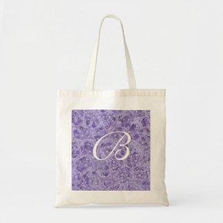Purple blends, Monogram tote bags, template