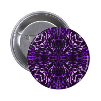 Purple Bling Abstract Button