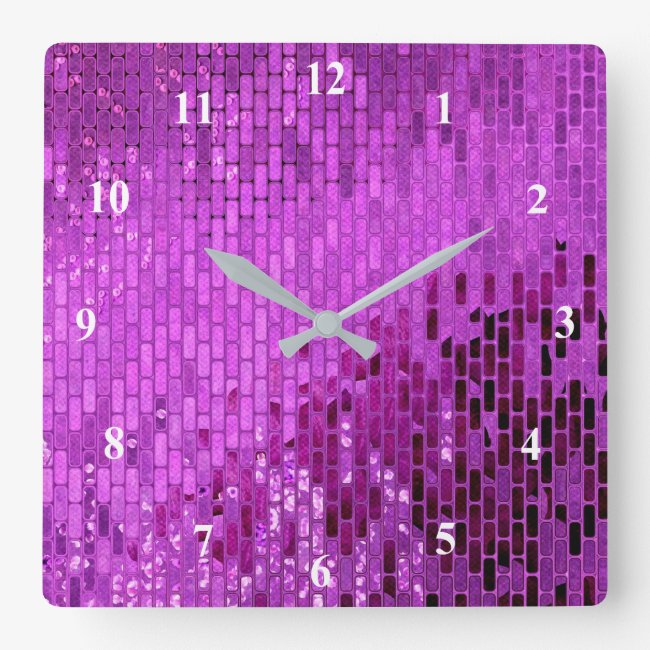 Purple Block Shimmer Pattern