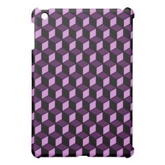 Purple Block Speck Case 3 Cover For The iPad Mini