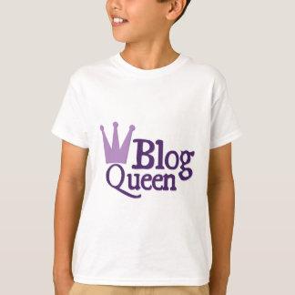 Purple Blogging Design T-Shirt
