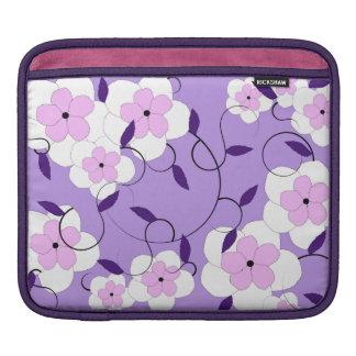 Purple Bloom Bush Ipad Sleeve