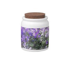 Purple Bloom ! Candy Jar