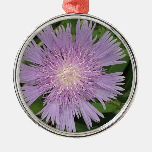 Purple bloom ornament