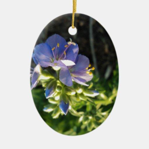Purple Bloom Ornaments