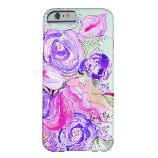 Purple Blooms Barely There iPhone 6 Case
