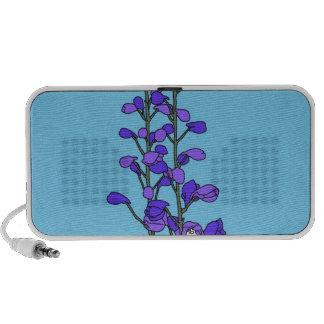 Purple Blossom iPhone Speakers