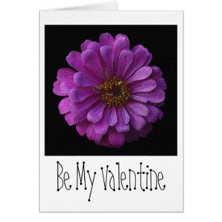 Purple Blossom Valentine's Day Card