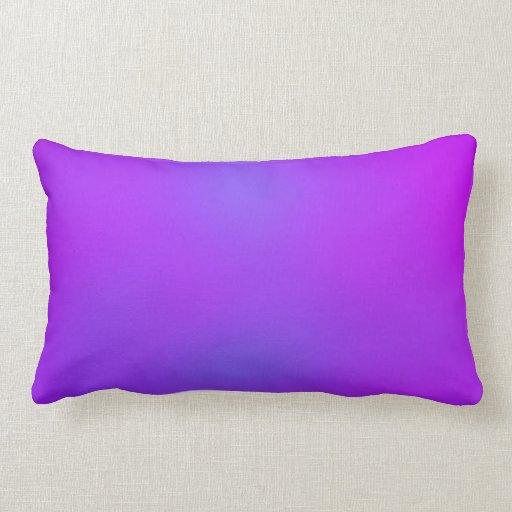 Blue Purple Throw Pillows : Purple/Blue Abstract 12/29/12 Throw Pillow Zazzle