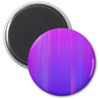 Purple & Blue Abstract Background: Template 2 Inch Round Magnet