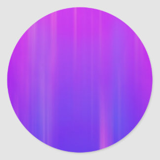 Purple & Blue Abstract Background: Template Classic Round Sticker