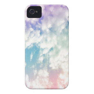 Purple Blue Abstract Cloud Pattern iPhone Case iPhone 4 Case-Mate Cases