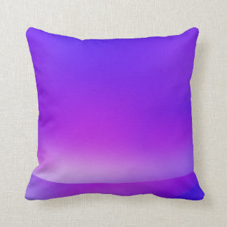 Purple/Blue Abstract Pillow