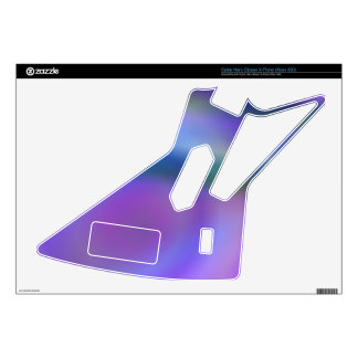 Purple blue abstract skins for guitar hero