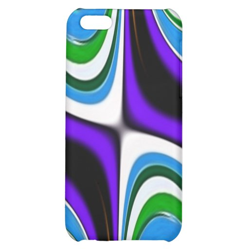 Purple Blue Abstract Speck Case iPhone 5C Case