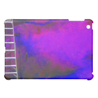 Purple Blue and Black background with ladder photo Case For The iPad Mini