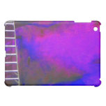 Purple Blue and Black background with ladder photo iPad Mini Cases