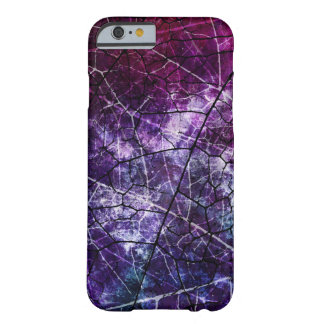 Purple, Blue, and Red Crackle Grunge Texture Barely There iPhone 6 Case