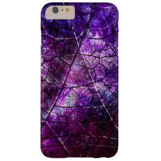 Purple, Blue, and Red Crackle Grunge Texture Barely There iPhone 6 Plus Case