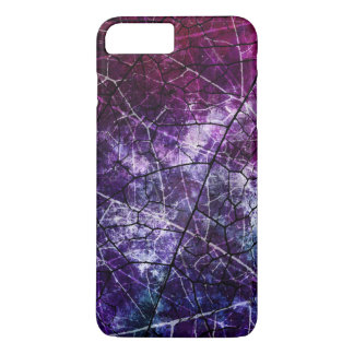 Purple, Blue, and Red Crackle Grunge Texture iPhone 8 Plus/7 Plus Case