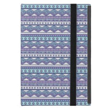 Aztec Themed Purple Blue Aztec Stylish Powis iPad Mini Case