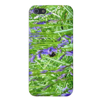 Purple blue bells blossom iPhone 5 case