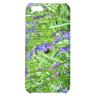 Purple blue bells blossom iPhone 5C cases