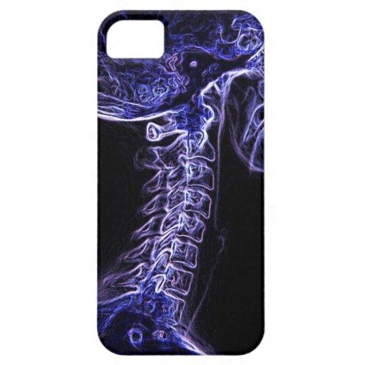 Purple/Blue C-spine iPhone 5 case