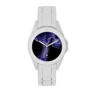Purple/Blue C-spine watch