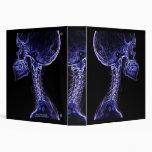 Purple/Blue C-spine X-ray binder