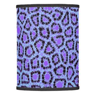 Purple Blue Cheetah Circle Abstract Lamp Shade