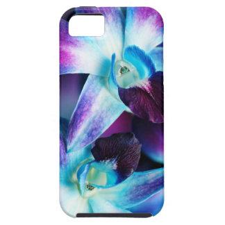 Purple & Blue Dendrobium Orchid Customized Orchids iPhone SE/5/5s Case