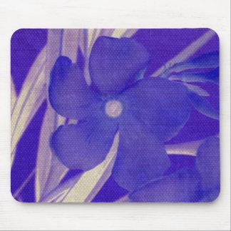 Purple Blue Flower Mousepad