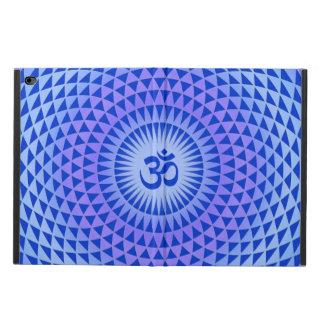Purple Blue Lotus flower meditation wheel OM Powis iPad Air 2 Case