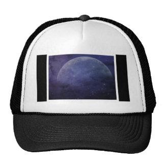 purple blue moon stars hats