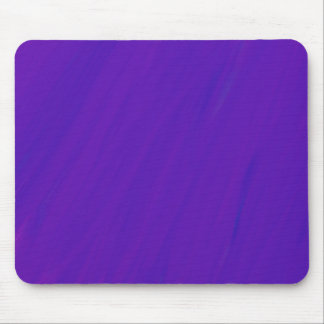 Purple Blue Paint Smear Blend Simple Abstract Mouse Pad