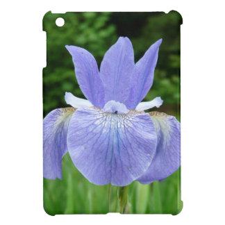 Purple Blue Siberian Iris Floral Photograph iPad Mini Cover