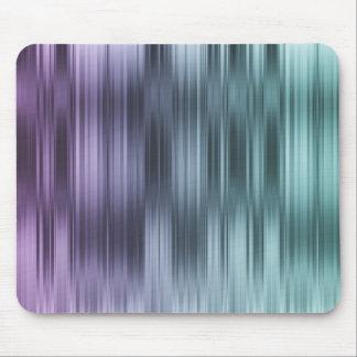 Purple Blue Stripes Mouse Pad
