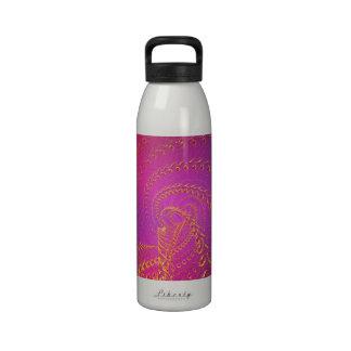 Purple-blue timeless reusable water bottles