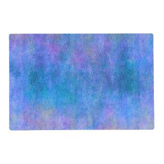 Purple Blue Watercolor Texture Background Placemat