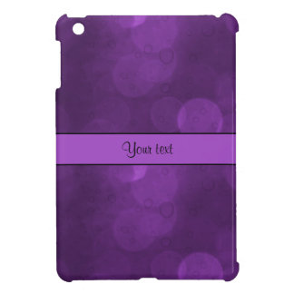 Purple Bokeh iPad Mini Cover