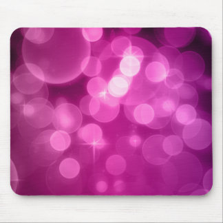 Purple Bokeh Mouse Pad