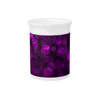 Purple Bokeh Pitchers