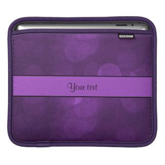 Purple Bokeh Sleeve For iPads