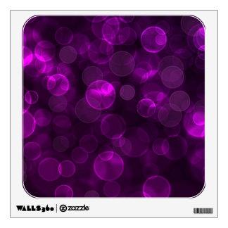 Purple Bokeh Wall Graphic