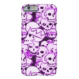 Purple Boneyard Reunion Barely There iPhone 6 Case