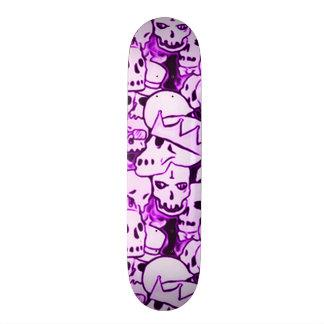 Purple Boneyard Reunion Skateboard Deck
