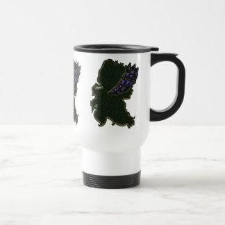 Purple Bonnet Junket Jug Coffee Mugs
