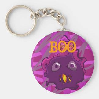 Purple BOO Keychain