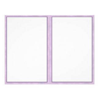 Purple Border 8.5 x 11 Paper
